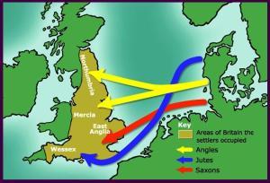 migration routes around the 800 C.E.