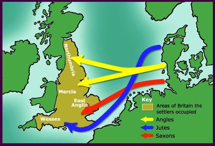 migration routes around 800 C.E.