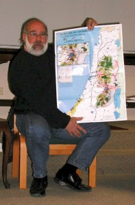 Anthropologist Jeff Halper and the geography of the matrix.