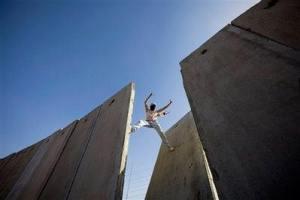 Palestinian Scales Walls