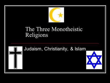 3-monotheistic