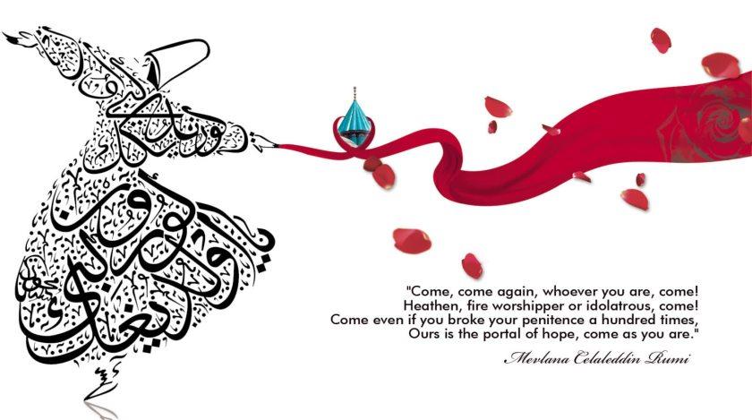 rumi-calligraphic