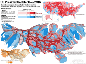 USelection2016Cartogram