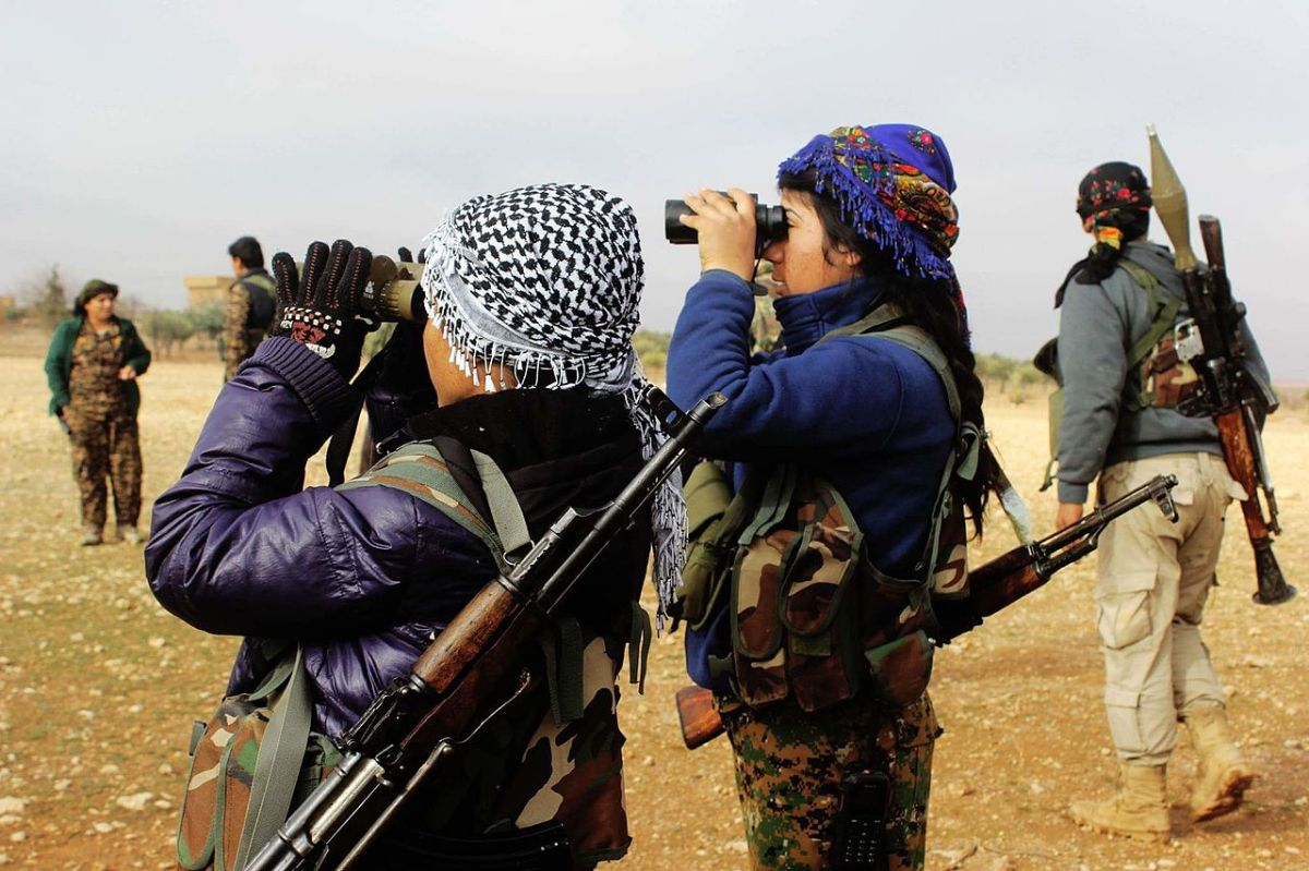 """Kurds: """"We have no friends but the mountains"""""""
